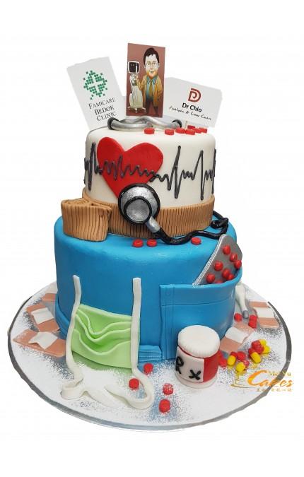 TIER 2 LEYER CAKE