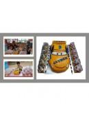 3D Yellow Car Cake Design