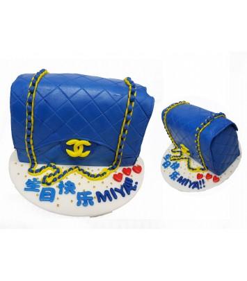 3D3-463-Chanel Blue